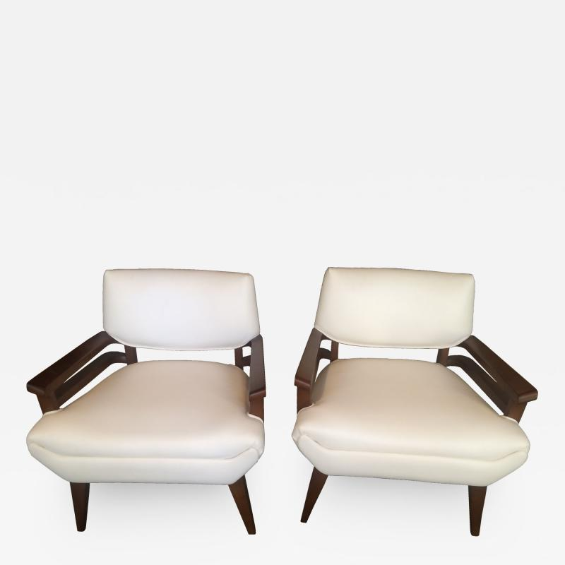 Paul L szl Pair of Paul Laszlo Lounge Chairs