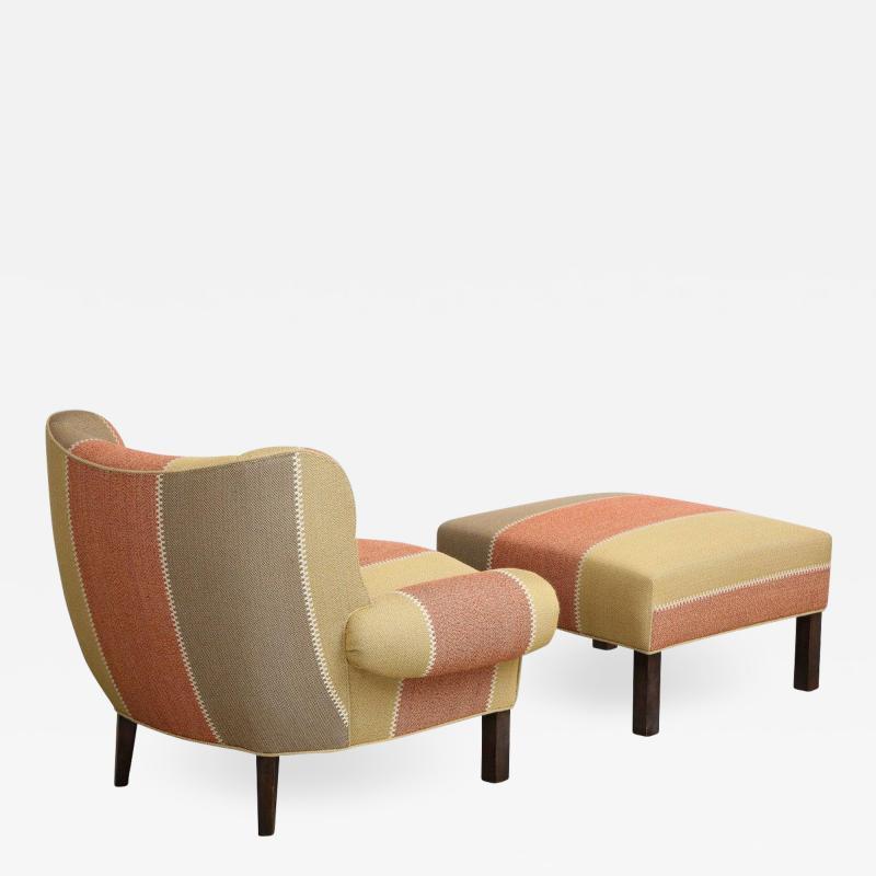 Paul L szl Paul L szl Chair and Ottoman