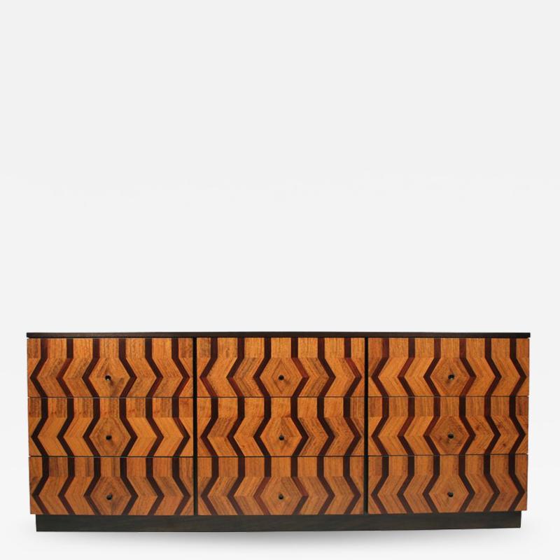 Paul McCobb Nine Drawer Dresser by Paul McCobb for Directional