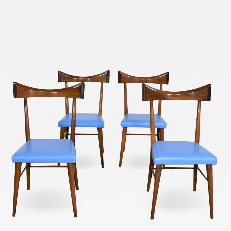 Paul McCobb Set 4 MCM planner group dining chairs by paul mccobb for winchendon