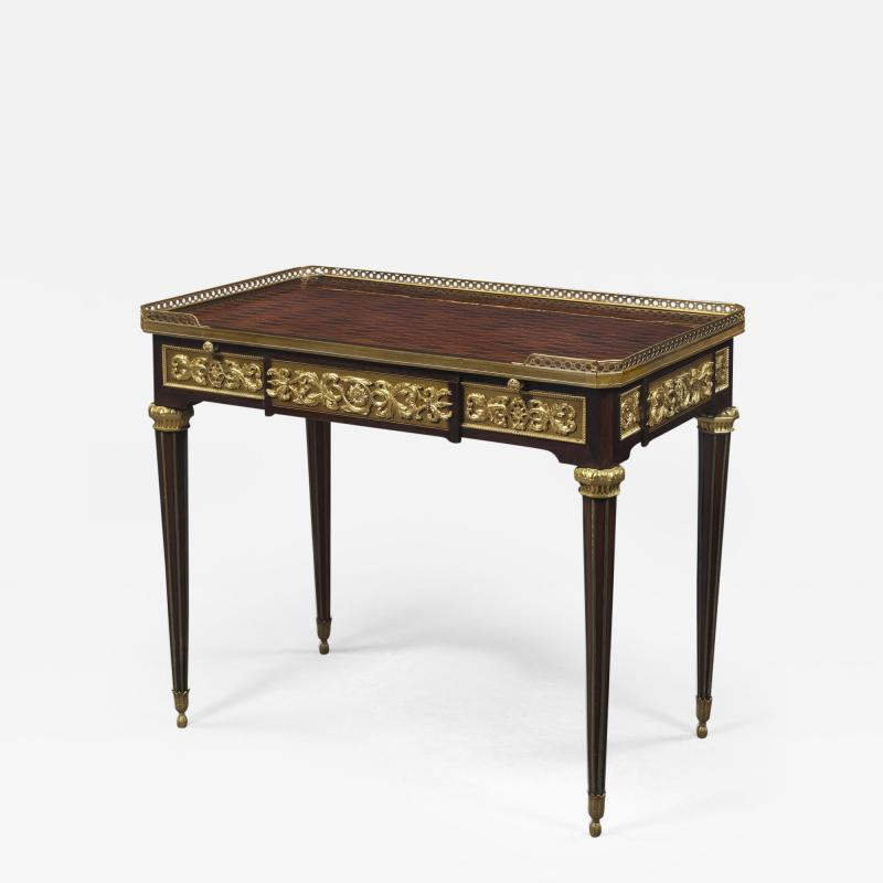 Paul Sormani A Louis XVI Style Mahogany Centre Table