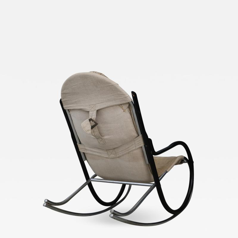Paul Tuttle Nona rocking chair designed by Paul Tuttle for Strassle international