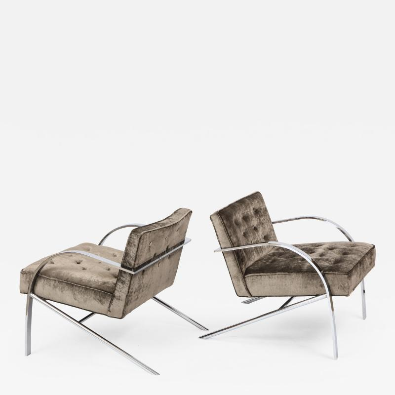 Paul Tuttle Paul Tuttle Arco Lounge Chairs