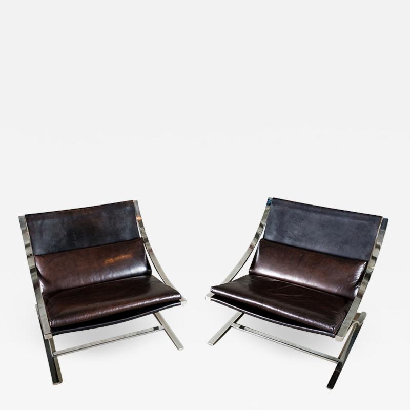 Paul Tuttle Paul Tuttle Pair of Z Chairs