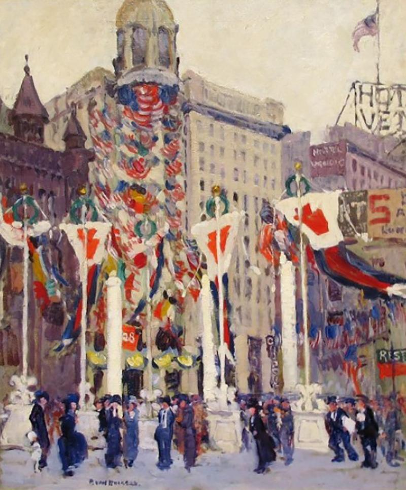Paulette Victorine Jeanne Mrs Arthur Meltzer Van Roekens Armistice Day