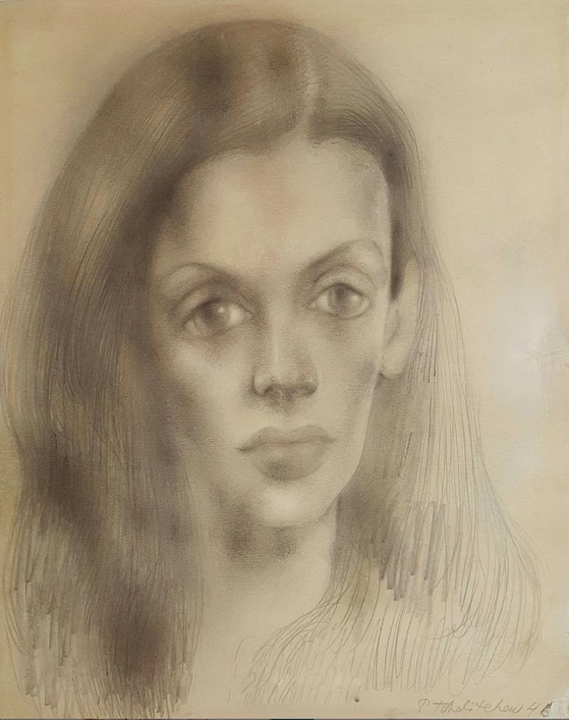 Pavel Tchelitchew Portrait of Bachoo Dinshaw Countess Woronzow