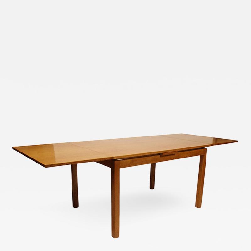 Peder Moos Custom Functionailst table with slide out leaves in oak by Peder Moos