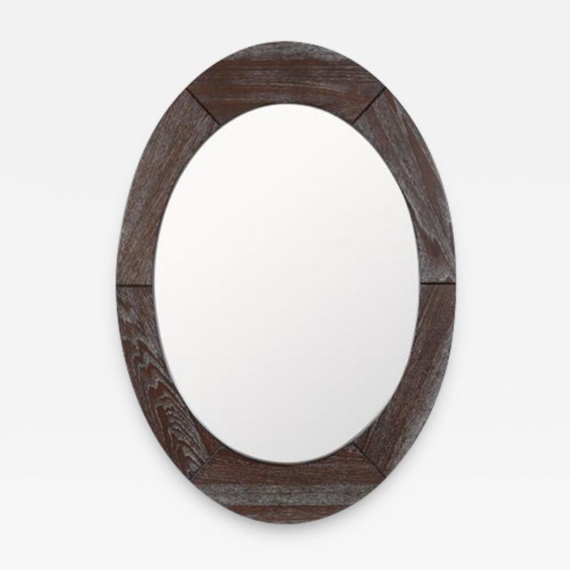 Pedersen Hansen Scandinavian Modern Mirror by Pedersen Hansen