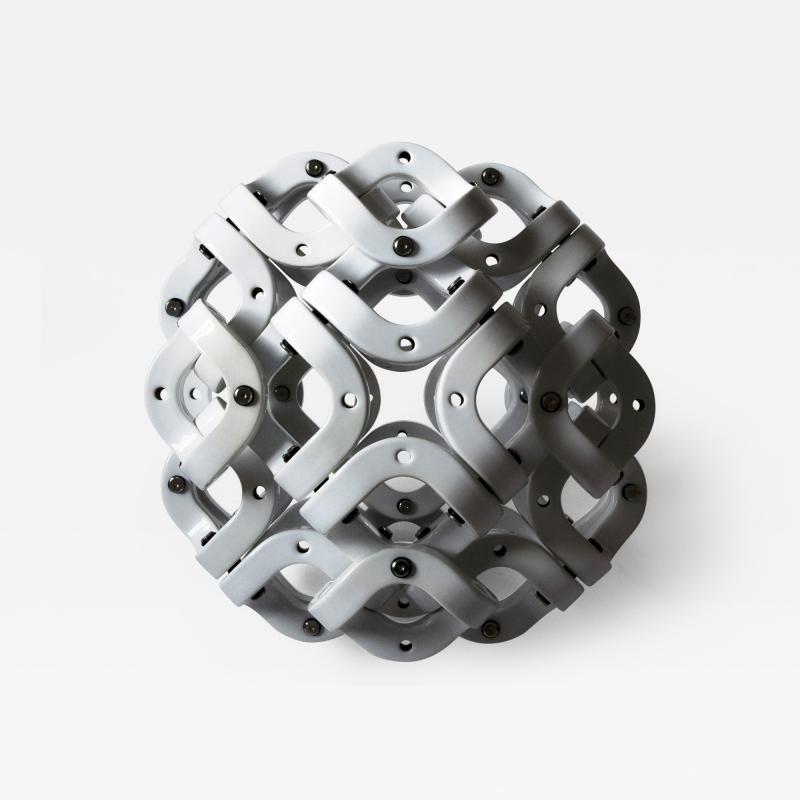 Pedro Cerisola SPHERE 32 from CUMULOS series geometric sculpture