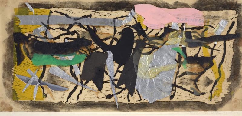 Perle Fine Printed Collage 4