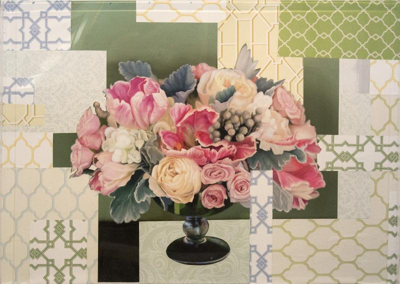 Peter Hoffer Arrangement in Soft Pink