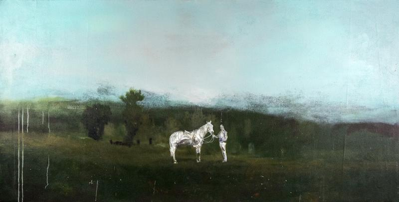 Peter Hoffer Horse and Rider