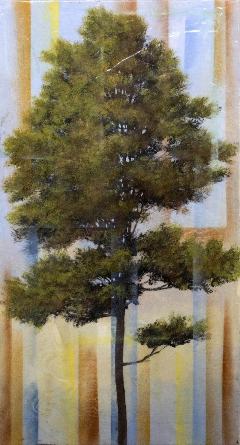 Peter Hoffer Pine Tree with Prism