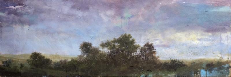 Peter Hoffer Untitled Purple Sky