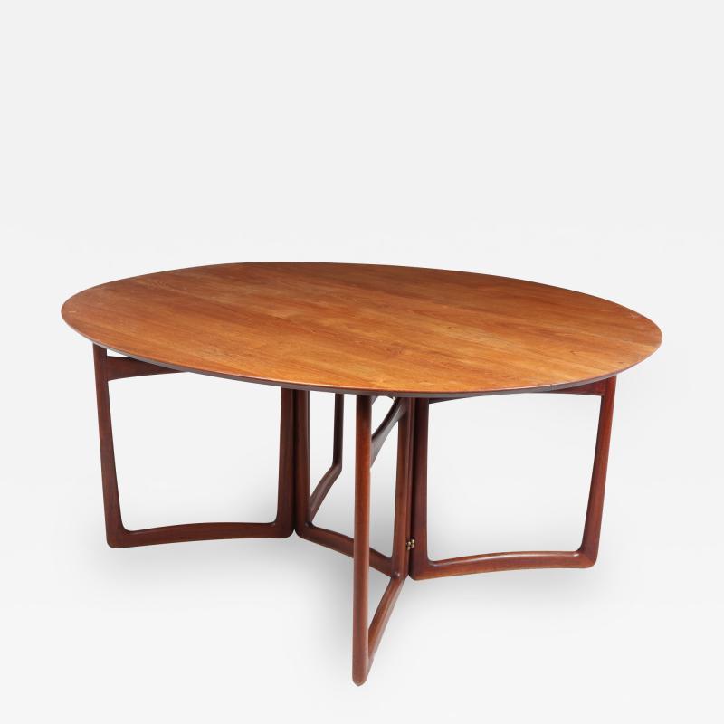 Peter Hvidt Orla M lgaard Nielsen Mid Century Dining Table by Peter Hvidt and Orla Molgaard Nielsen c1950