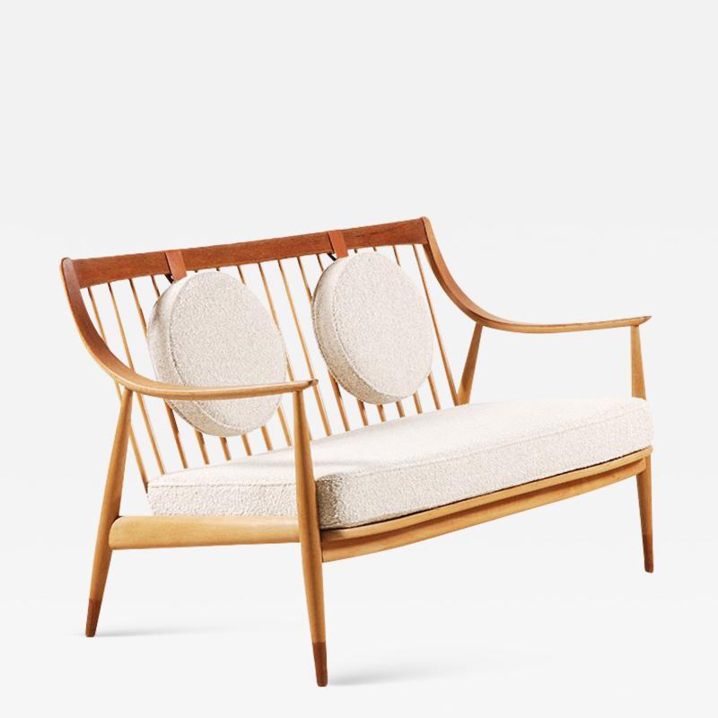 Peter Hvidt Orla M lgaard Nielsen Peter Hvidt Orla M lgaard Nielsen Two seat Sofa by France Daverkosen 1953