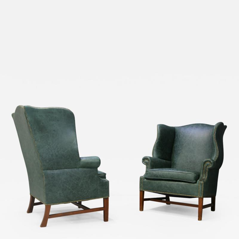 Peter Hvidt Pair of armchairs by Peter Hvidt Orla M lgaard Nielsen Wingback Chair