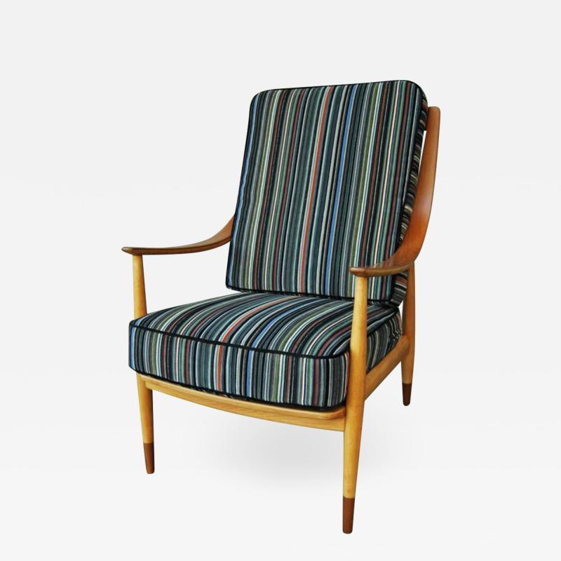 Peter Hvidt Peter Hvidt Tall Back Easy Chair 1960s