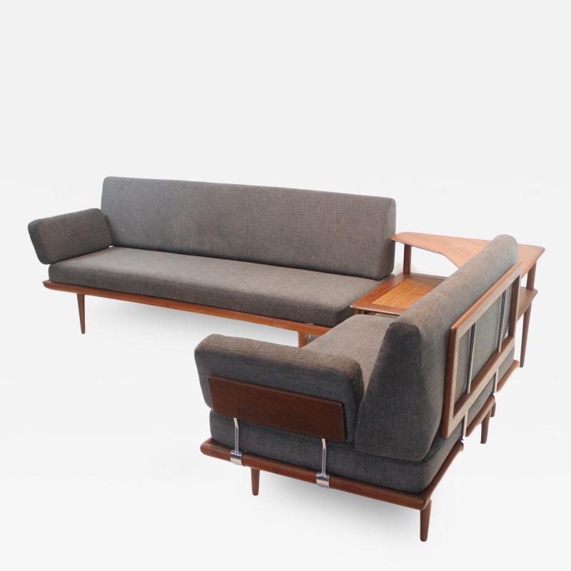 Peter Hvidt Scandinavian Modern Minerva Living Room Suite Designed by Peter Hvidt