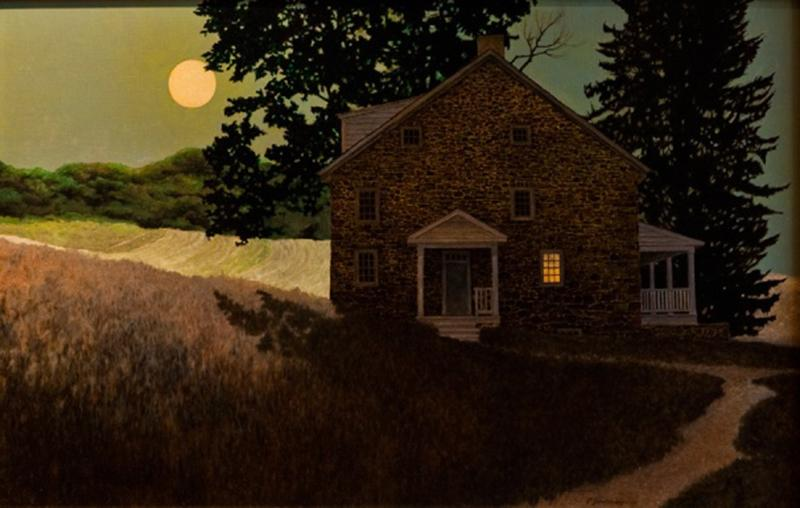 Peter Sculthorpe Halloween Moon
