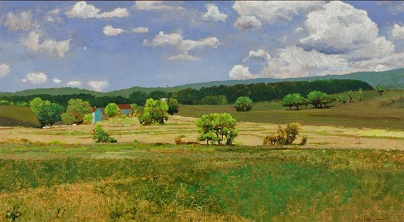 Peter Sculthorpe Near Paris Virginia