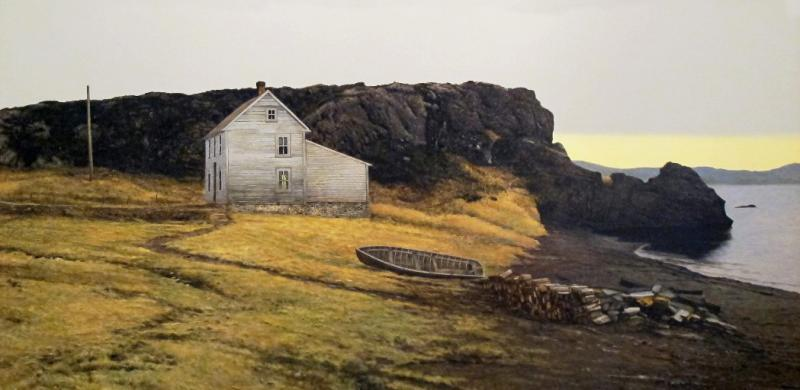 Peter Sculthorpe Twillingate at Low Tide