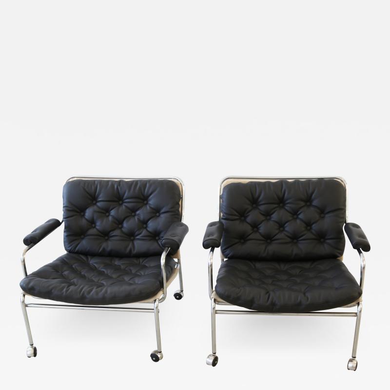 Pethrus Lindl f Eva Lounge Chairs