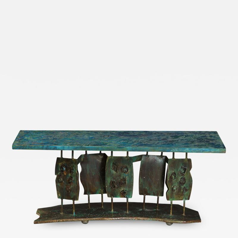 Philip and Kelvin LaVerne Dance of the Fauves Rare Low Table by Philip Kelvin LaVerne