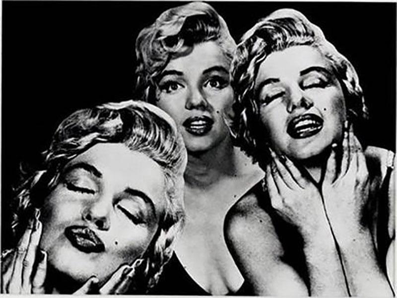 Philippe Halsman Marilyn Monroe Photograph by Philippe Halsman