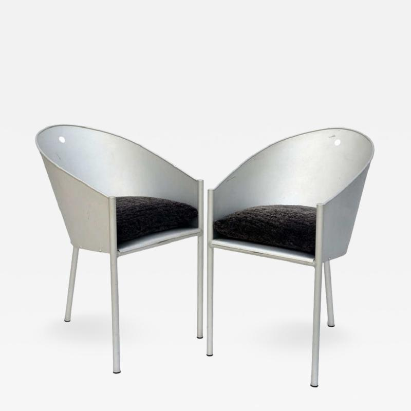 Philippe Starck Pair of Sculptural Chairs by Philippe Starck