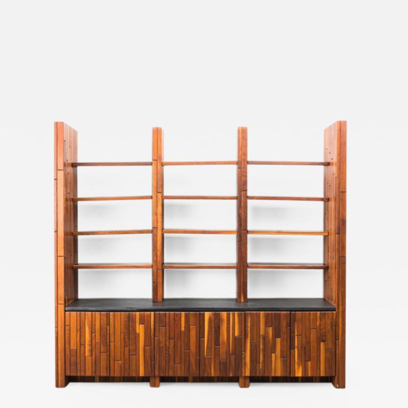 Phillip Lloyd Powell Phillip Lloyd Powell Custom Cabinet with Shelves USA 1960s