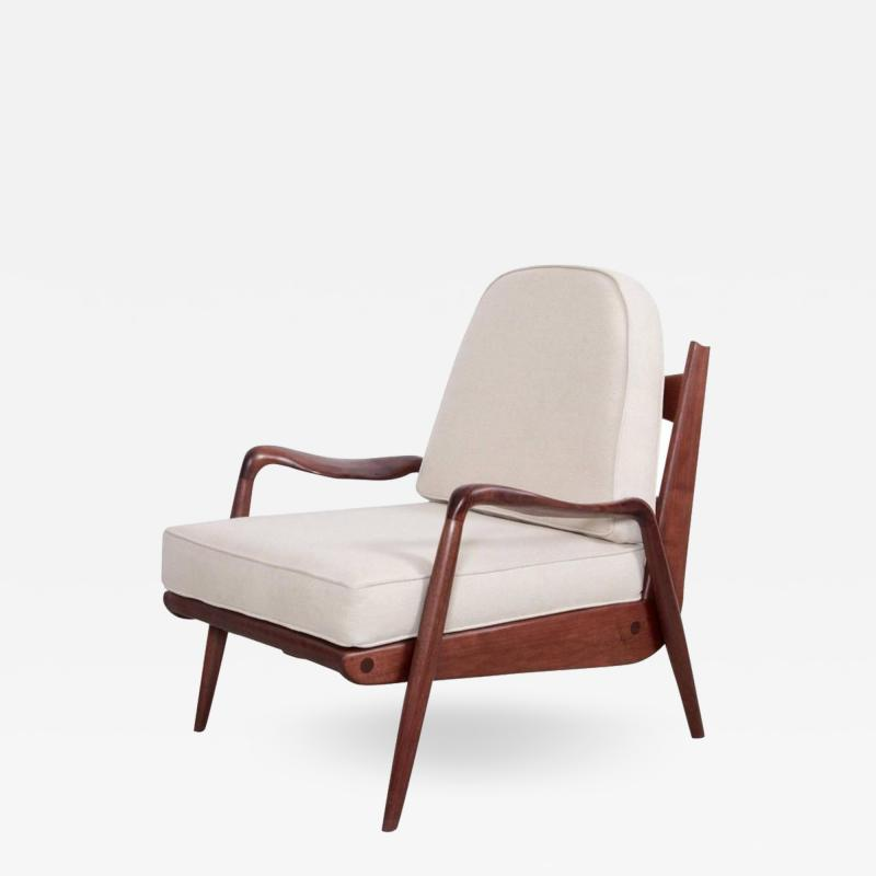 Phillip Lloyd Powell Phillip Lloyd Powell New Hope Lounge Chair in Black Walnut