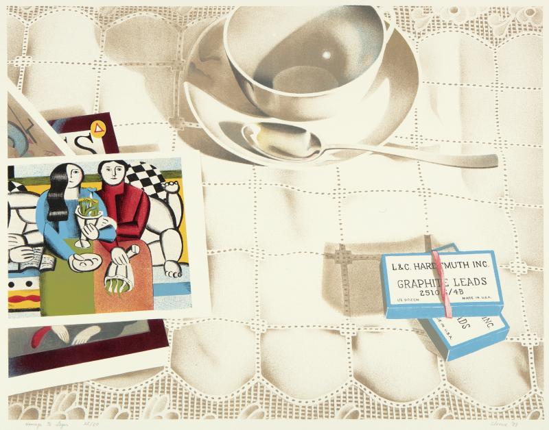 Phyllis Sloane Homage to Leger