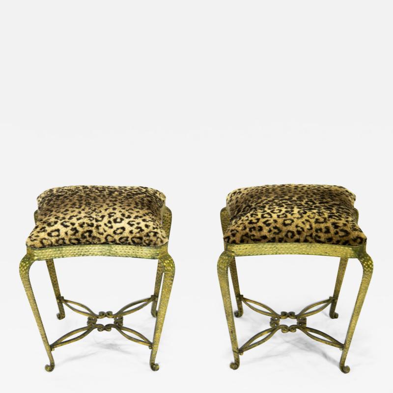 Pier Luigi Colli Pair of stools by Pier Luigi Colli
