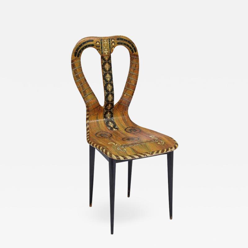 Piero Fornasetti Piero Fornasetti Chair
