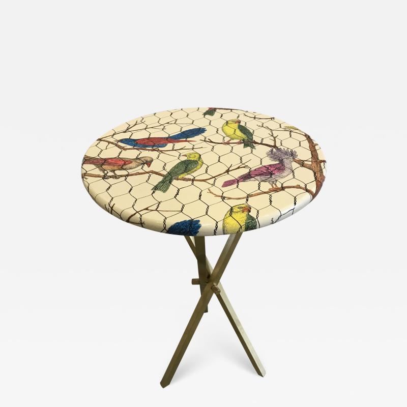 Piero Fornasetti Side table by Piero Fornasetti