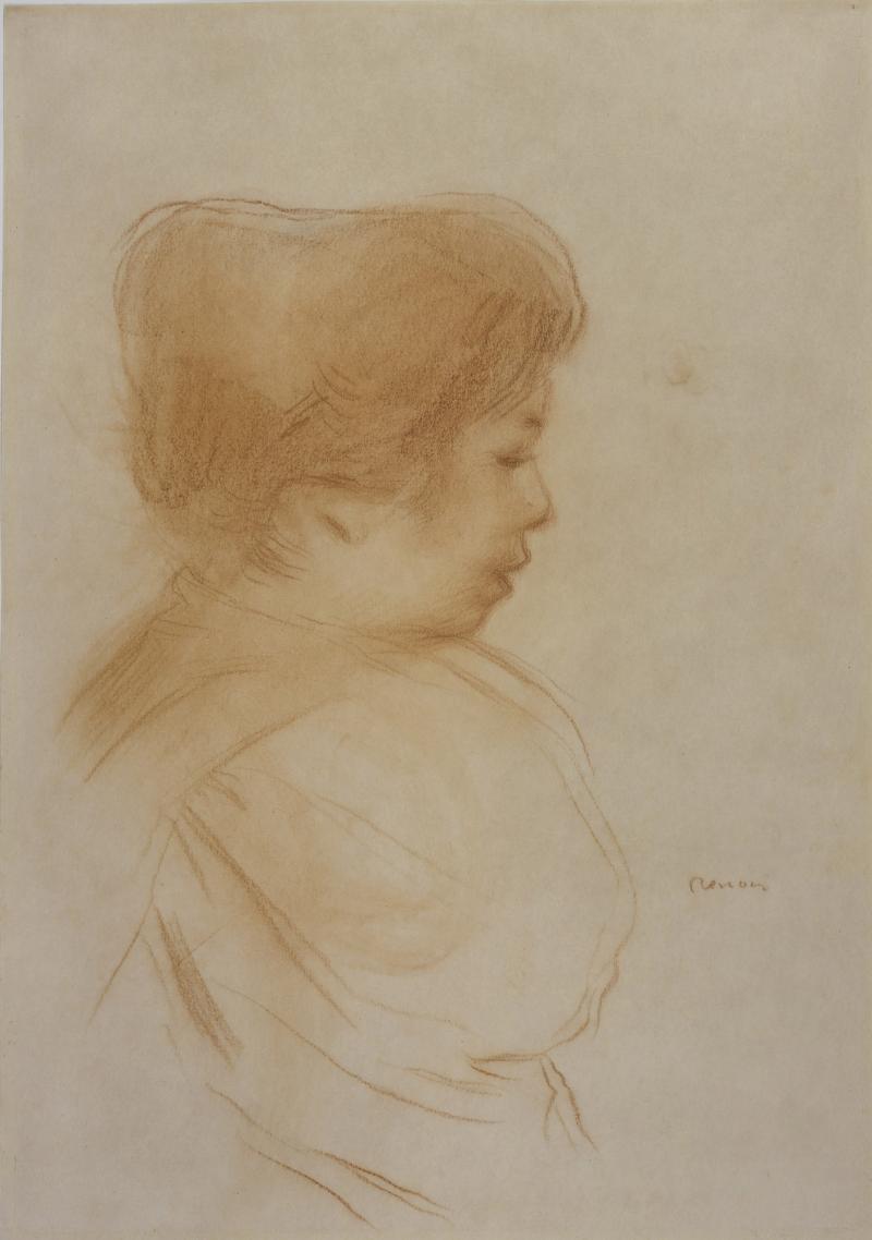 Pierre Auguste Renoir Mademoiselle Yvonne Lerolle