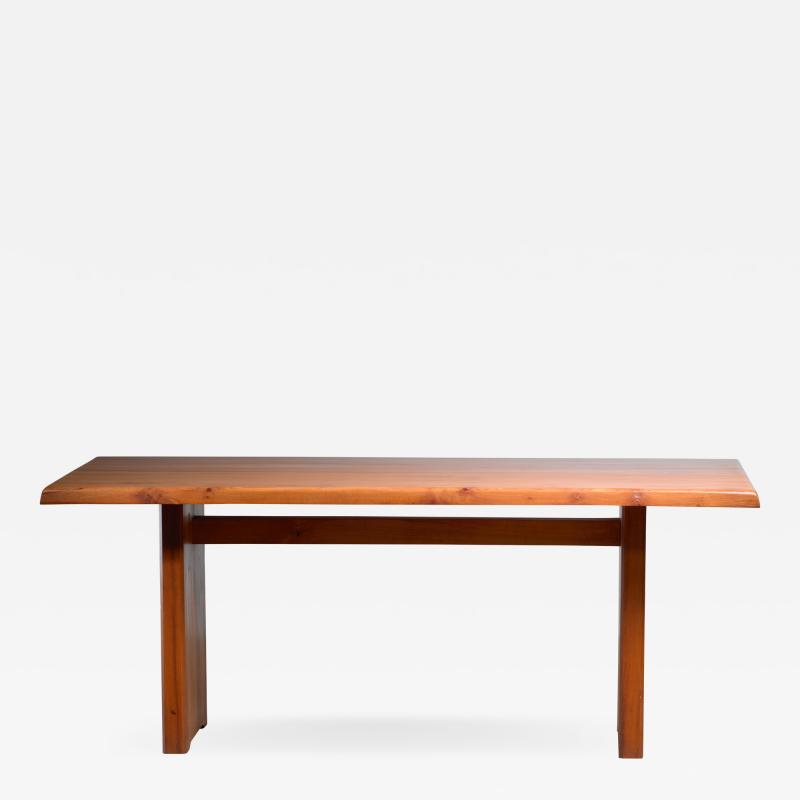 Pierre Chapo Large Pierre Chapo dining table France 1960s