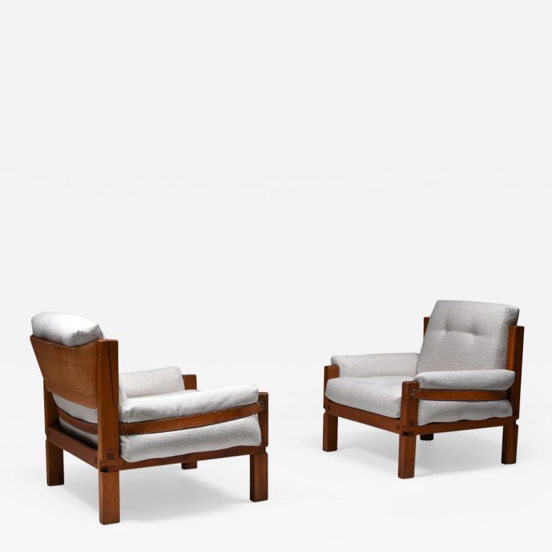 Pierre Chapo Pierre Chapo S15 easy chairs boucl 1964