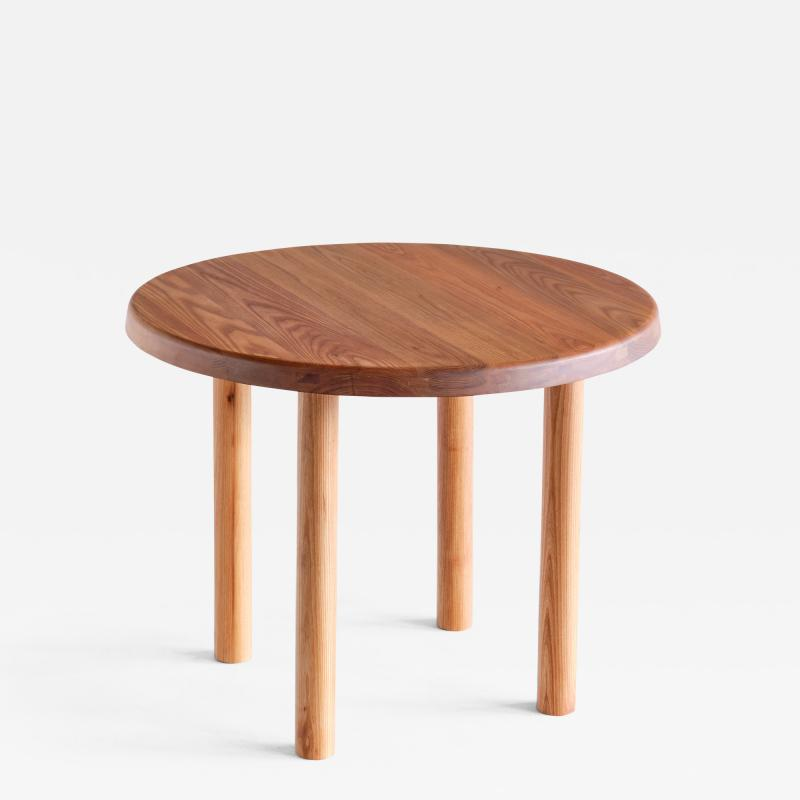 Pierre Chapo Pierre Chapo T02 Dining Table in Solid Elm Chapo Creation France