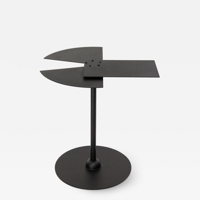 Pierre Chareau FAN side table by Pierre Chareau in re edition