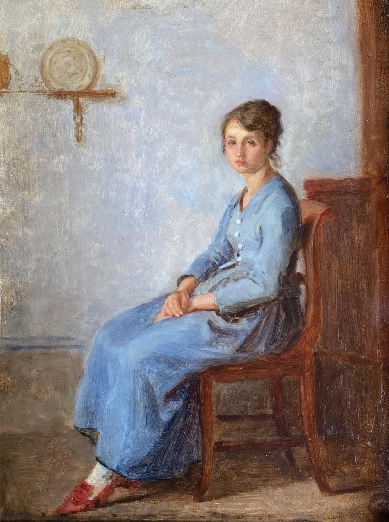Pierre Edouard Frere A French Nurse