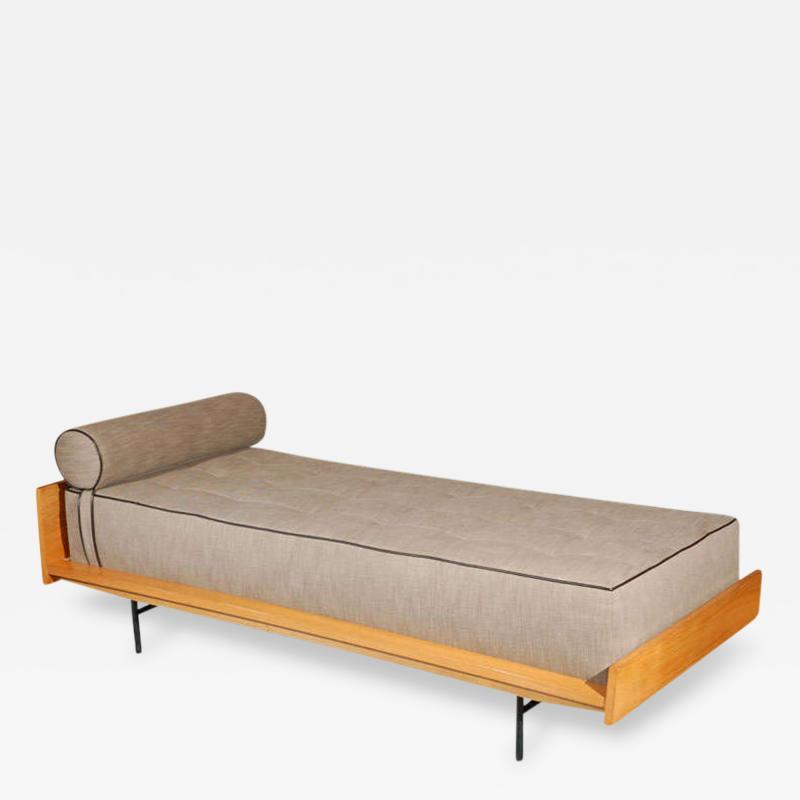 Pierre Guariche 1960s Pair of Stamped Pierre Guariche Daybeds