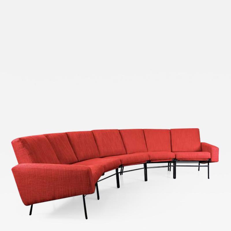 Pierre Guariche 1960s Rare Pierre Guariche Large Sofa for Airborne