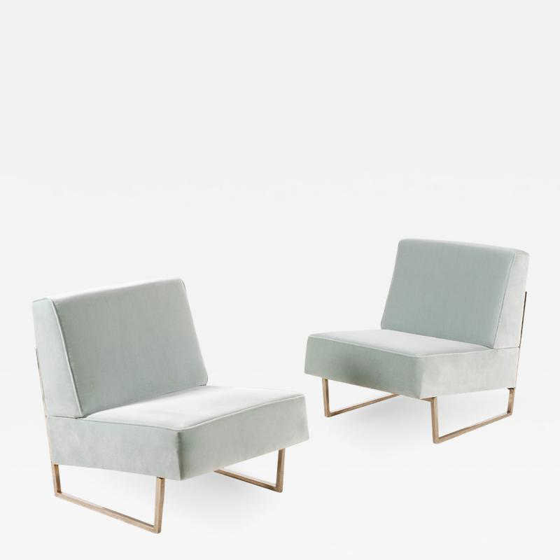 Pierre Guariche Pair of Pierre Guariche Courchevel Lounge Chairs for Si ges T moins 1959