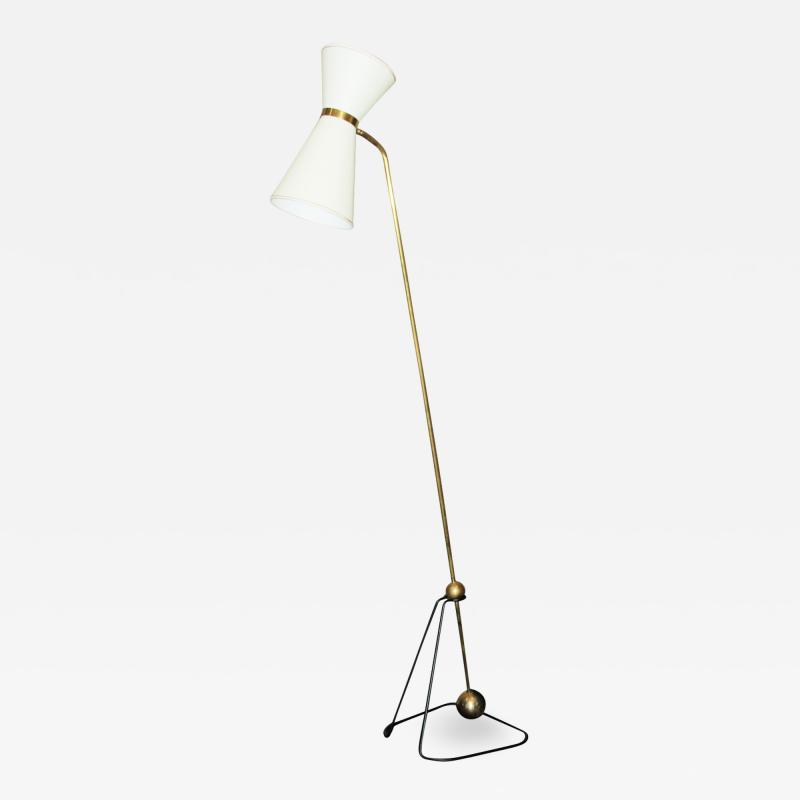 Pierre Guariche Rare Floor Lamp Model of Pierre Guariche 1970