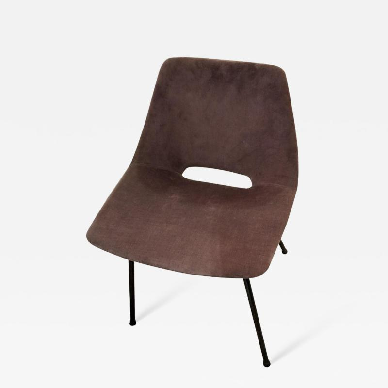 Pierre Guariche Tonneau Chair by Pierre Guariche for Steiner