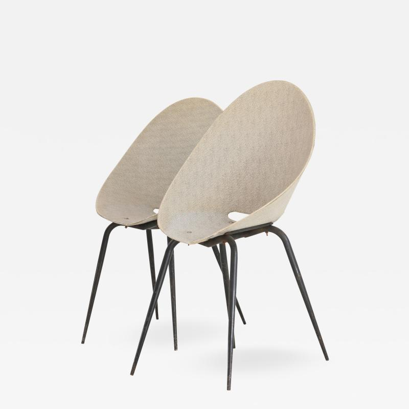 Pierre Guariche chairs by Pierre Guariche from 1950 in original condition
