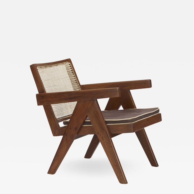 Pierre Jeanneret Easy chair from the administrative buildings of Chandigarh
