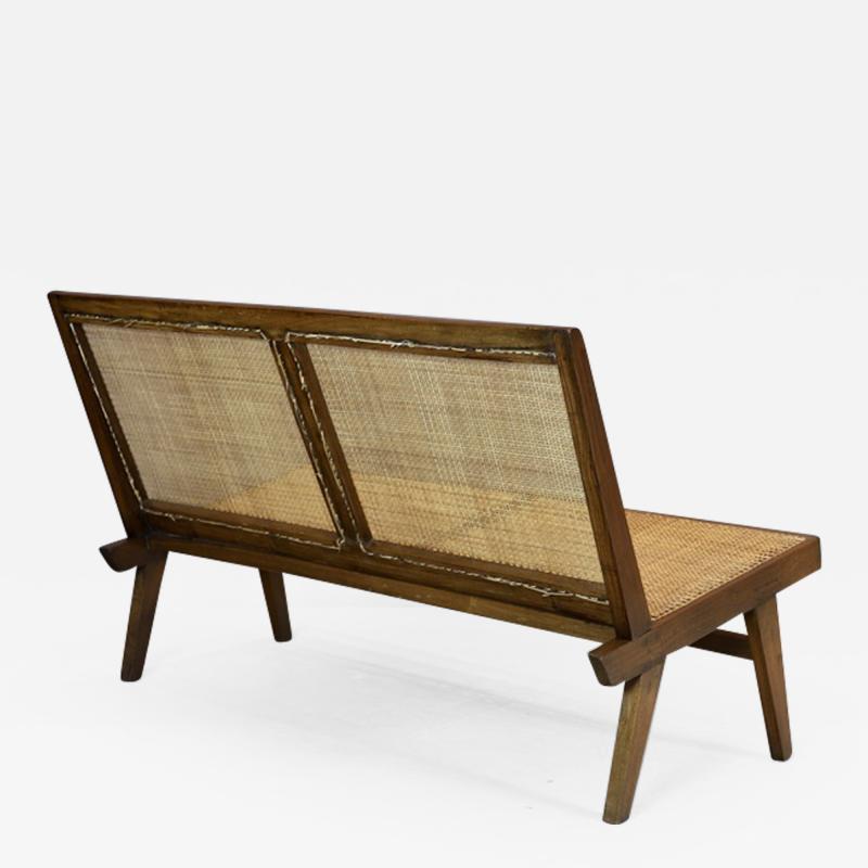 Pierre Jeanneret Pierre Jeanneret Rare Folding Settee 1958